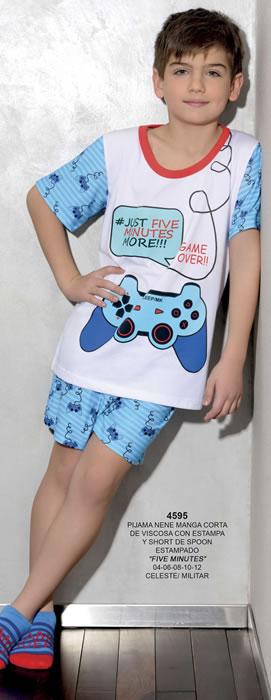 art-4595-pijama-nene-manga-corta-de-viscosa-con-estampa-y-short-de-spoon-estampado-t-4-al-12-c-celeste-militar