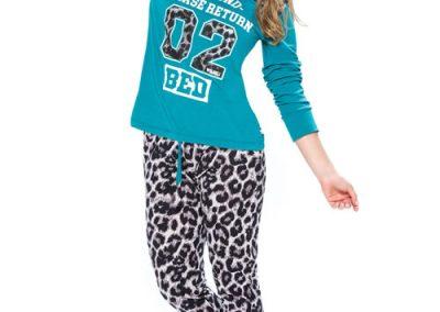Art-2113-pijama-modal-estampa-02-animal-print-colores-coral-petroleo-talles-S-M-L-XL-Especial-XXL