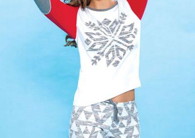 Art-2116-pijama-dama-jersey-estampa-copo-de-nieve-colores-rojo-topo-celeste-coral-talles-S-M-L-XL.