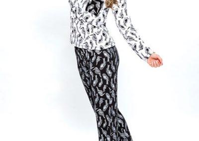 Art-2121-pijama-dama-modal-estampa-pajaros-colores-coral-negro-talles-S-M-L-XL-Especial-XXL.