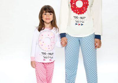 Art-255-pijama-nena-modal-estampado-Do-Nut-colores-rosa-acqua-talles-2-al-12-Especial-14-al-16