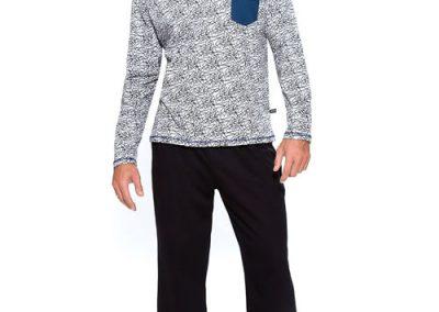 Art-320-pijama-hombre-jersey-estampa-shark-colores-azul-negro-talles-S-M-L-XL-Especial-XXL.