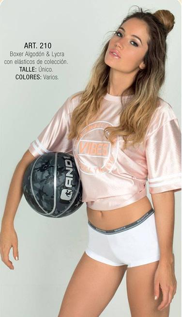 Art 210 boxer algodon y lycra con elasticos de coleccion Talle unico Colores varios
