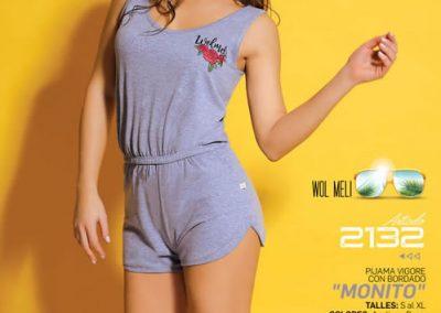 Art-2132-Pijama-de-Dama-MONITO-Azulino-Rosa-Talle-S-M-L-XL